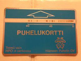 Finland Phonecard HPO-D5 - Finlandia