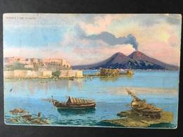 NAPOLI...NAPLES...NEAPEL.....Vesuvio....ed.  Brunner - Napoli