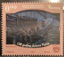 Bosnia And Hercegovina, 2015,  130 Years Of Solana Tuzla (MNH) - Bosnia And Herzegovina