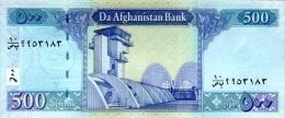 AFGHANISTAN P. 76c 500 A 2012 UNC - Afghanistan