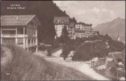 CPA Leysin Grand Hôtel, Non Circulé - VD Vaud