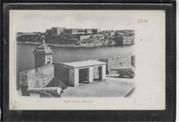 AK 0503  Malta - Bighi Naval Hospital Um 1900-1910 - Malte