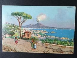 NAPOLI...NAPLES...NEAPEL.....Panorama - Napoli