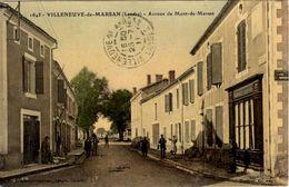 Villeneuve-de-Marsan (Landes) : Avenue De Mont De Marsan - Villeneuve De Marsan