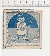 2 Scans Humour Transport De 1912 Métier Vieux Cocher Concurrencé Par Le Taxi ?? Fin Du Fiacre Généalogie Zède 51B18 - Old Paper