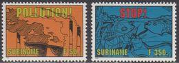 Suriname 1995 Yvertn° 1321-1322 *** MNH Cote 55 FF Stop Pollution - Surinam