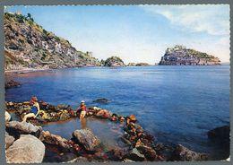 °°° Cartolina - Ischia Castello Visto Dalle Sorgenti Minerali Di Cartaromana Viaggiata °°° - Napoli
