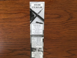 Marque Page Plume écriture - Bookmarks