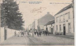 Jodoigne , Avenue De La Station Et Route De Jauche ,n° 8 ,( Rail Du Tram Vicinal Vers Hannut ) - Jodoigne