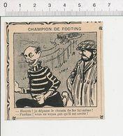 2 Scans Humour Animal Chat Et Souris Rats Dans La Cave Bonne Cave Tonneau Vin Sport Footing Champion 51B18 - Old Paper