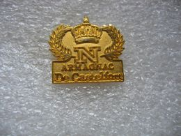 Pin's N: Armagnac De CASTELFORT - Beverages
