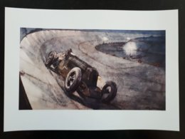Affiche De Voiture De Course Ancienne : Morel Battant Un Reccord De Nuit & - Automobilismo - F1