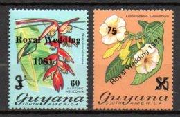 Guyana 601 Et 602** - Guyane (1966-...)