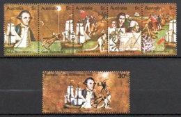 Australie 407 à 412** - 1966-79 Elizabeth II