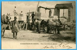 78 - Yvelines - Carrieres Saint Denis – Une Carriere A Pierre (N0323) - Carrières-sur-Seine