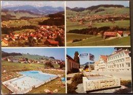 Ak Schweiz - Waldstatt - Ortansichten - Schwimmbad - AR Appenzell Outer-Rhodes