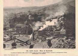 ALES - Mines De Rochebelle- Gard - Documents Historiques