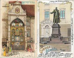 1899/1900 - OLOMOUC , 2 Stk. Gute Zustand, 2 Scan - Czech Republic