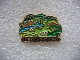 Pin's Les Vosges - Steden