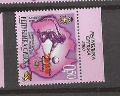 2000  174  SYDNEY  BOSNIEN HERZEGOWINA REPUBLIKA SRPSKA  OLYMPIADE   HANDBALL  Mnh INTERESSANT - Bosnia Herzegovina