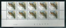 Buzin Nr 2347**  Strook Van 10 Met Datum 16-XI-89 - 1985-.. Vogels (Buzin)