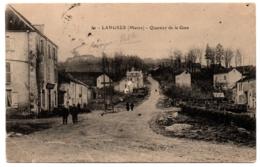 CPA 52 - LANGRES (Haute Marne) - 50. Quartier De La Gare - Langres