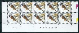 Buzin Nr 2425**  Strook Van 10 Met Datum 12-III-97 - 1985-.. Vogels (Buzin)