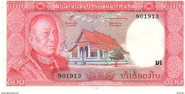 Laos P.17  500 Kip  1974 Unc - Laos