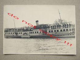 "Ship "" KRAJINA "" / Naval Salute - Belgrade, Serbia ( 1953 ) - Boats"