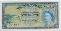 BERMUDA P. 20d 1 D 1966 VF - Bermuda