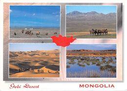 "Asie > MONGOLIA Mongolie Gobi Desert-Timbre Stamp MONGOLIA ""Year Of The Snake"" - Mongolie"