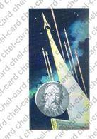 "[2017, Space, Physics, Mathematics] Post Card ""[The Founder Of Theoretical Cosmonautics K.E. Tsiolkovsky]"". - Rusland"