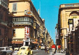 Asie > MALTA Malte Kingway Valetta La Valette (AUTO VOITURE Ww Cox- Coccinelle) Timbre Stamp MALTA - Malte