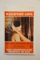 Affiche De Film érotique - Marathon Love - Réalisateur : Andrew White - Posters