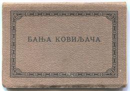 BANJA KOVILJAČA  -  SERBIA, VINTAGE CARNET ALBUM POSTCARDS Year 1930s, 10 Pcs - Serbie