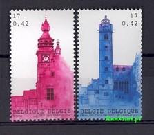 Belgium 2001 Mi 3065-3066 MNH ( ZE3 BLG3065-3066 ) - Horlogerie