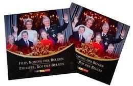 Belgie, Euro Set 2014, Filip Koning Der Belgen  FDC, Van 1 Cent Tot 2 Euro - Belgique