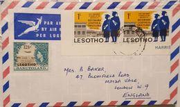 Lesotho 1967 Registered Letter To England - Lesotho (1966-...)