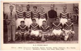 59 LILLE - S. C. FIVOIS 1936-37 - Lille