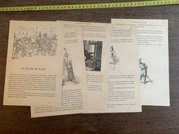 CONTE FLAMAND 1885 HISTOIRE LE BARON DE RAGE RACHE CHATEAU DOUAI - Collections