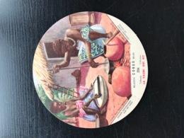 LA VACHE QUI RIT - CONGO BELGE N°204 Ménageres Noires Au Travail Belgisch  Zwarte Huisvrouwen Aan Het Werk Chromo - Chromos