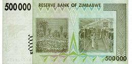 Zimbabwe P.76 500000 Dollars 2008    Unc - Zimbabwe