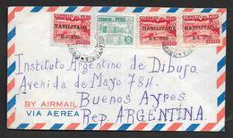 PERU' TO BUENOS AIRES N° 89 - Perú