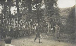 02 ST Ou SAINT QUENTIN  Carte Photo  87° R.I.   Militaria  Non écrite Bon état  CPA - Saint Quentin