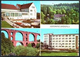 D6878 - TOP Jössnitz Jößnitz FDGB Heim Richard Mildenstrey Gaststätte Pfaffenmühle - Bild Und Heimat Reichenbach - Vogtland