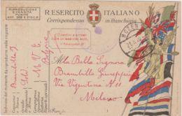 1920 BOZEN 1/2b C2 (21.8) Su Cartolina Franchigia - 1900-44 Vittorio Emanuele III