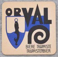 Sous-bock ORVAL Bière Trappiste Trappistenbier Bierdeckel Bierviltje Coaster (N) - Beer Mats