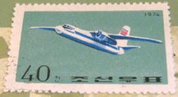 North Korea 1974 Civil Aviation An-24 40 Ch - Used - Corea Del Nord