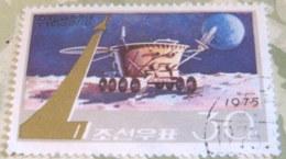 North Korea 1975 Cosmonauts Day 30 Ch - Used - Corea Del Nord