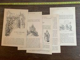 CONTE FLAMAND 1885 HISTOIRE LE BEAU CHEVALIER DE SOUABE CHATEAU ROZIERE SIRE DE WAZIERS - Collections